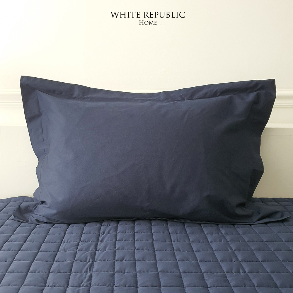 WR Signature Collection Oxford Pillowcase (Navy)