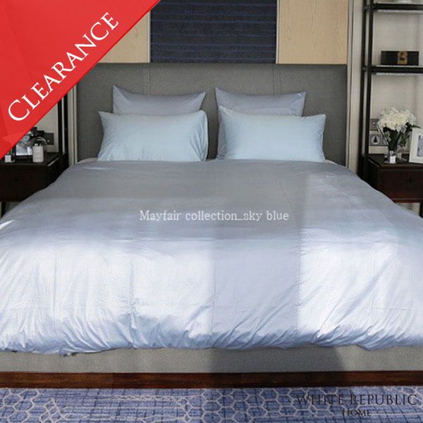 [균일가] Mayfair Basic Duvet Cover (Sky Bule) - S