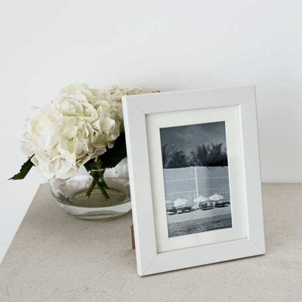 [균일가] Oxford Mounted Photo Frame 5x7 White