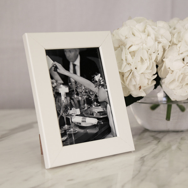 [균일가] Oxford Photo Frame 4x6 White