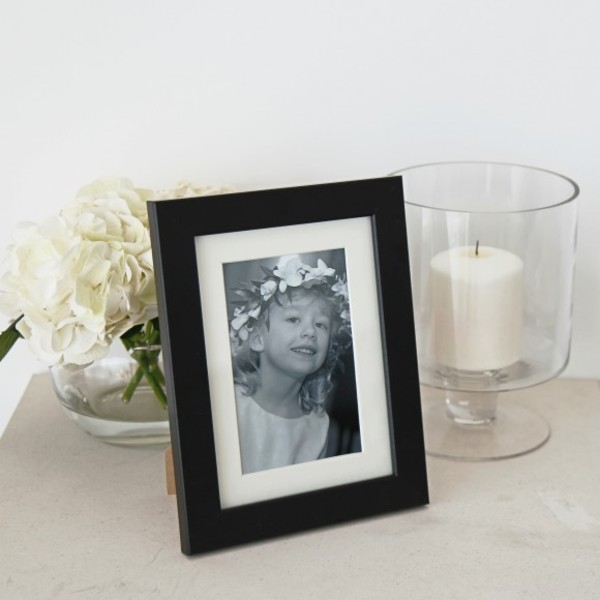 [균일가] Oxford Mounted Photo Frame 5x7 Black