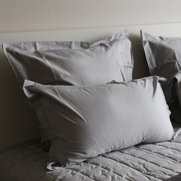 Dulwich Square Pillowcase - Light Grey