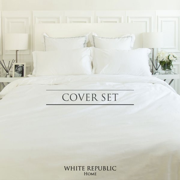 Duke Collection Cover Set - White (SS, Q, K)