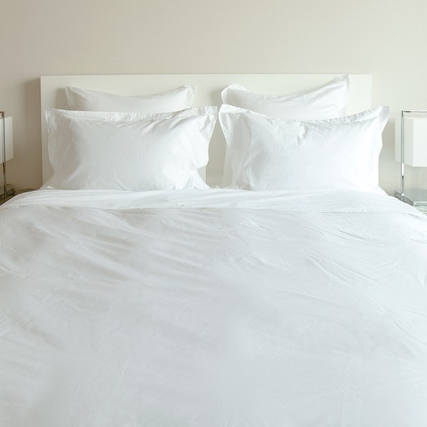 Duke Duvet Cover - White SS