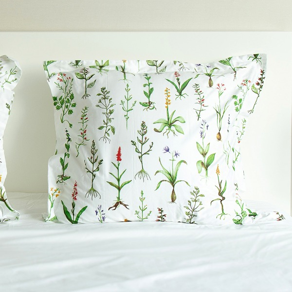 Botanic Collection Square Pillowcase
