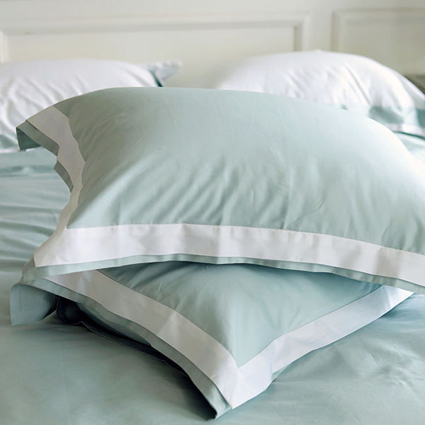 Four Seasons Collection Oxford Pillowcase Mint W