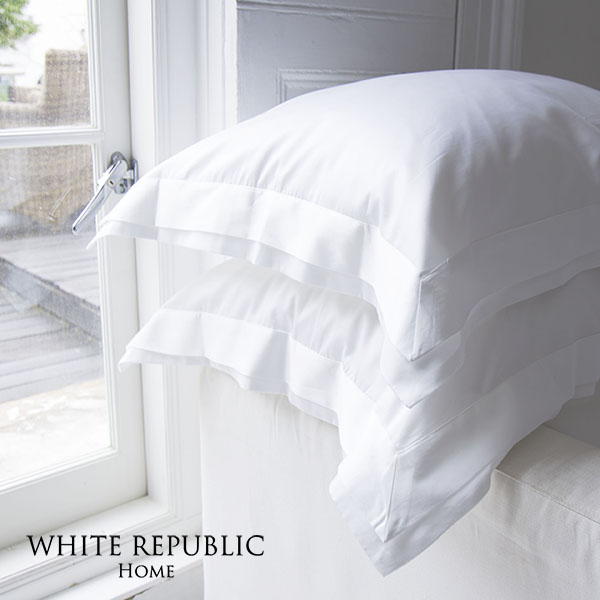 Four Seasons Collection Oxford Pillowcase White