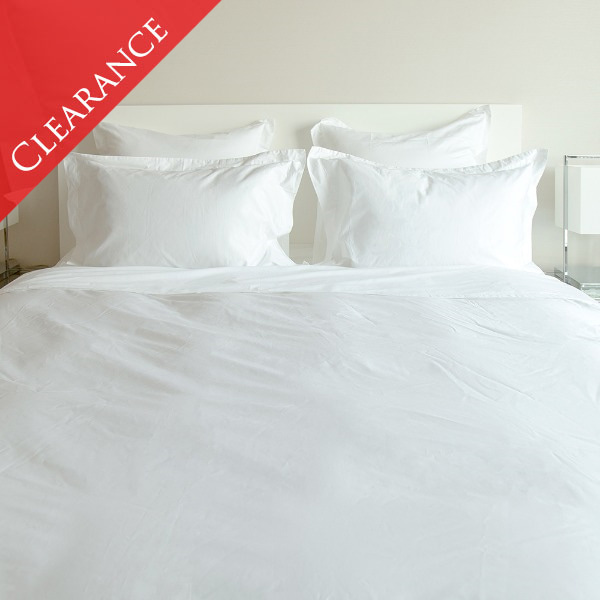 [균일가] Duke Collection Duvet Cover - White (SS)