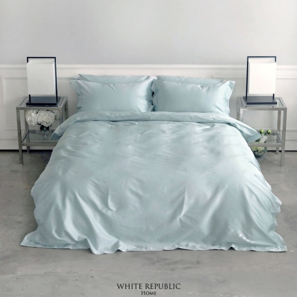 Ritz Collection Duvet Cover Mint Q
