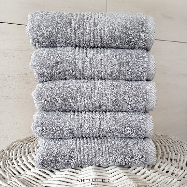 220g 40수 Dorchester Hand Towel (세면타올) 1P LightGrey