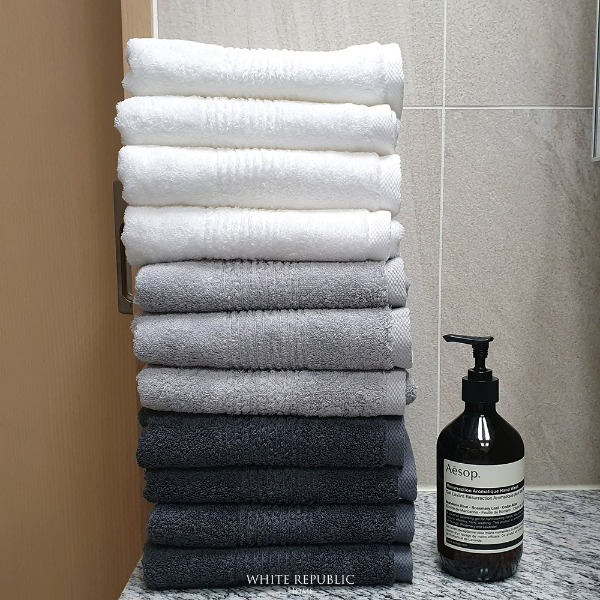 220g 40수 Dorchester Hand Towel (세면타올) 11P (99,000)