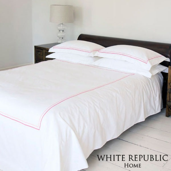 [패밀리세일][80수 자수 정상제품]Primrose collection Duvet Cover SS Pink
